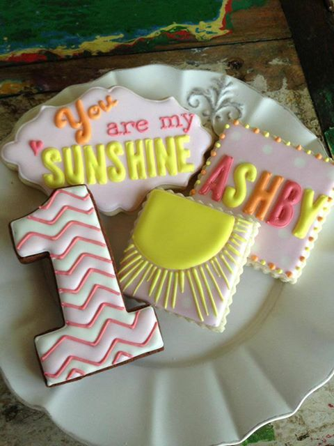 you are my sunshine cookies - Google Search