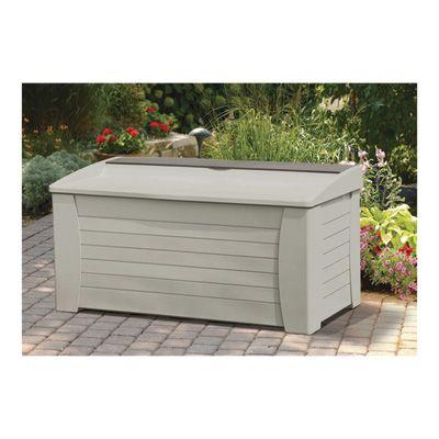 Suncast Deck Box — 127 Gallon, Includes Storage Compartment, Model# DB1200