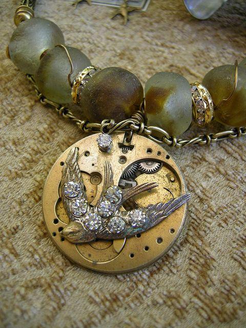 Diana Frey steampunk jewelry