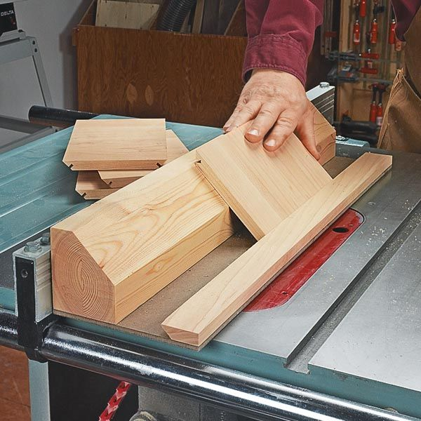 If you need to cut spline slots in lots of small pieces, you might want to try this jig. -