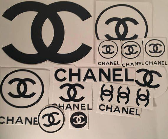 15 piezas etiqueta Chanel