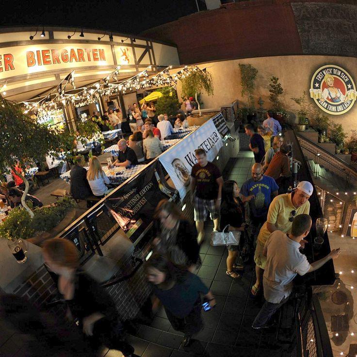 The 10 best rooftops to drink on in the ATL- Der Biergarten/Atlanta, GA