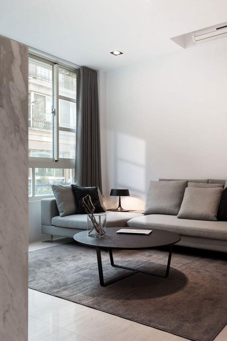 Z-AXIS DESIGN, Guo's Residence, интерьер минимализм фото, стильный интерьер…