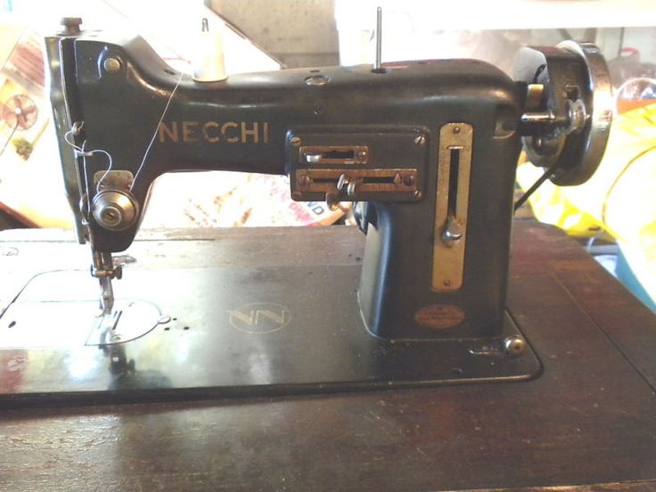 40 Best Nechii Bu Images On Pinterest Antique Sewing Machines Stunning Old Necchi Sewing Machine