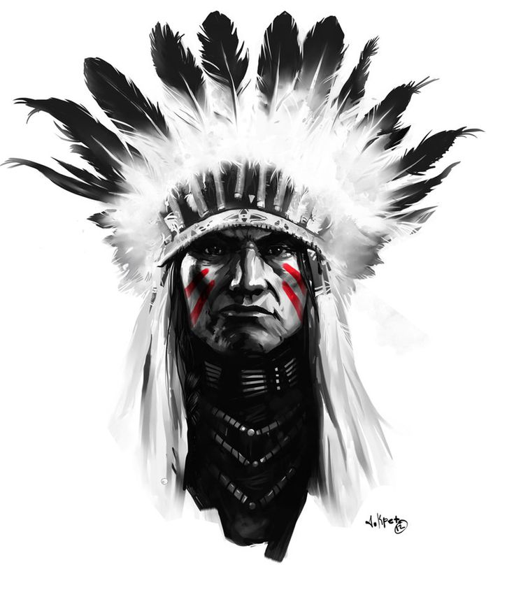 Indian by AlexanderKretov on deviantART