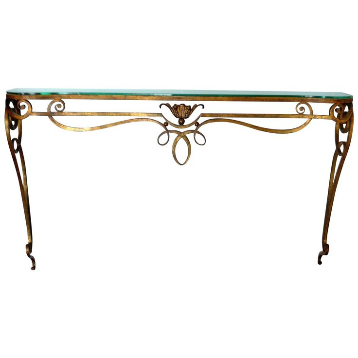 Best 25 wrought iron console table ideas on pinterest for Wrought iron sofa table legs