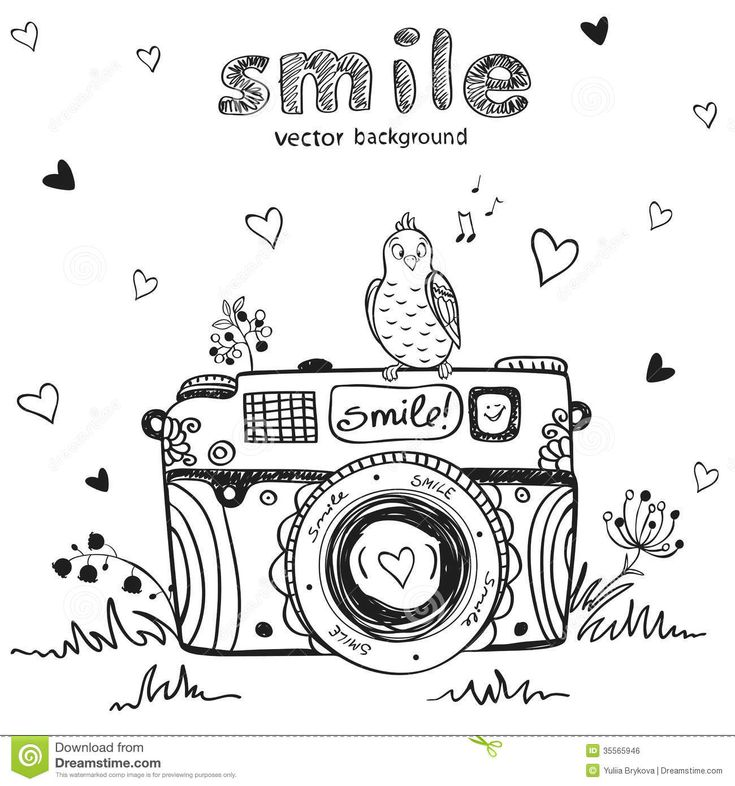 poloroid clipart black and white - Google Search