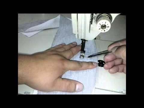 como hacer un bolsillo de un pantalon deportivo!! - YouTube