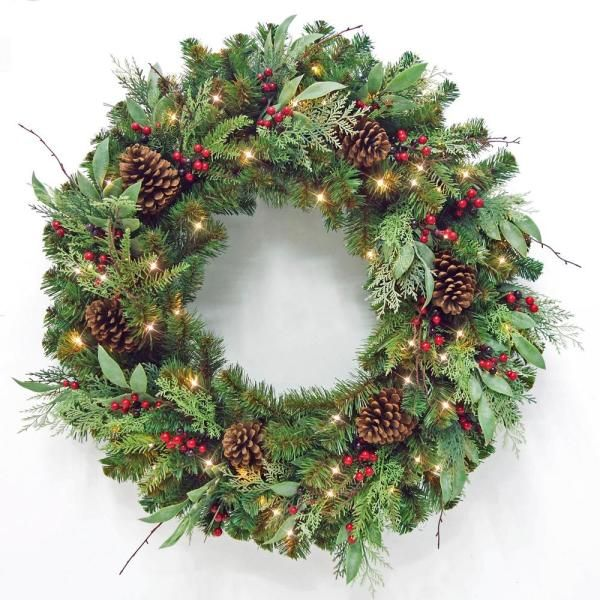 43++ 36 inch battery operated christmas wreath ideas