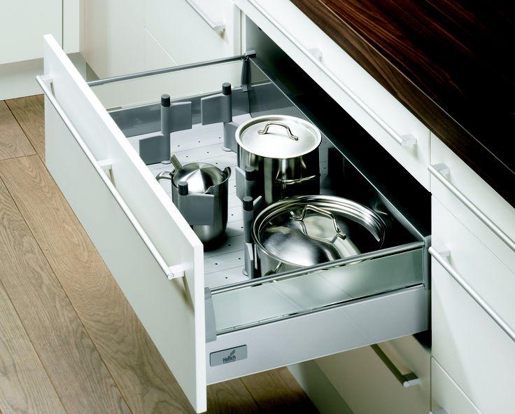 Am nagement de tiroir hettich disponible sur for Amenagement tiroir cuisine ikea