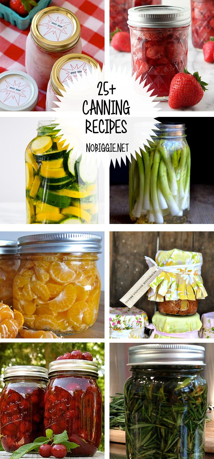 25+ Canning Recipes