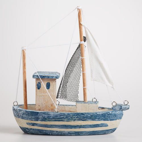 Nice One Of My Favorite Discoveries At WorldMarket.com: Wood Fishing Boat Decor