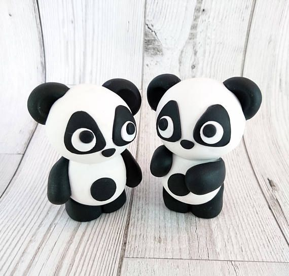 Hey, I found this really awesome Etsy listing at https://www.etsy.com/uk/listing/527689422/panda-cake-toppers-polymer-clay-birthday