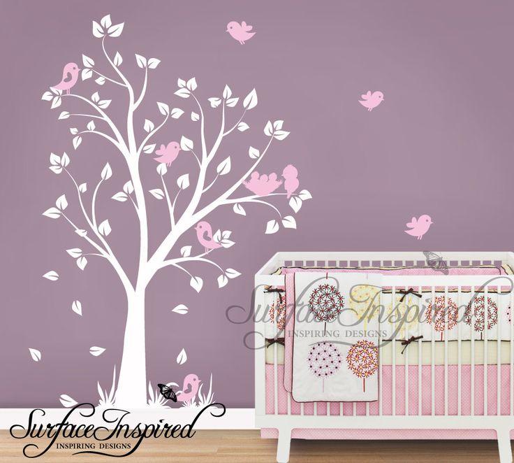 Baby+Nursery+Wall+Decals+Nursery+Garden+Tree+by+SurfaceInspired,+$74.99