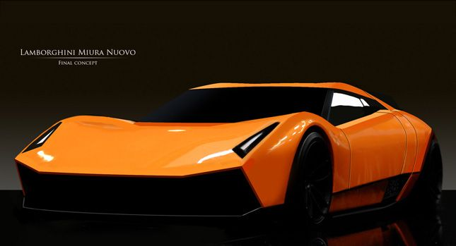Merveilleux Lamborghini Miura Nuovo Study Its Awsome New Version Of Muria I Love This  Car Have 5 On Forza