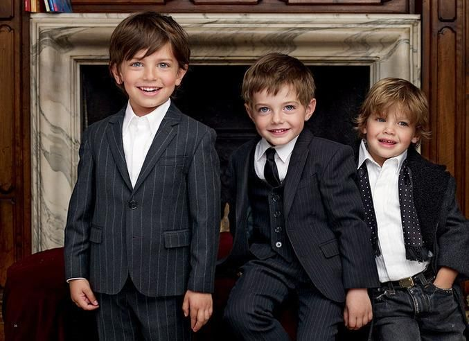 Праздничные ботинки для мальчиков под выходной костюм