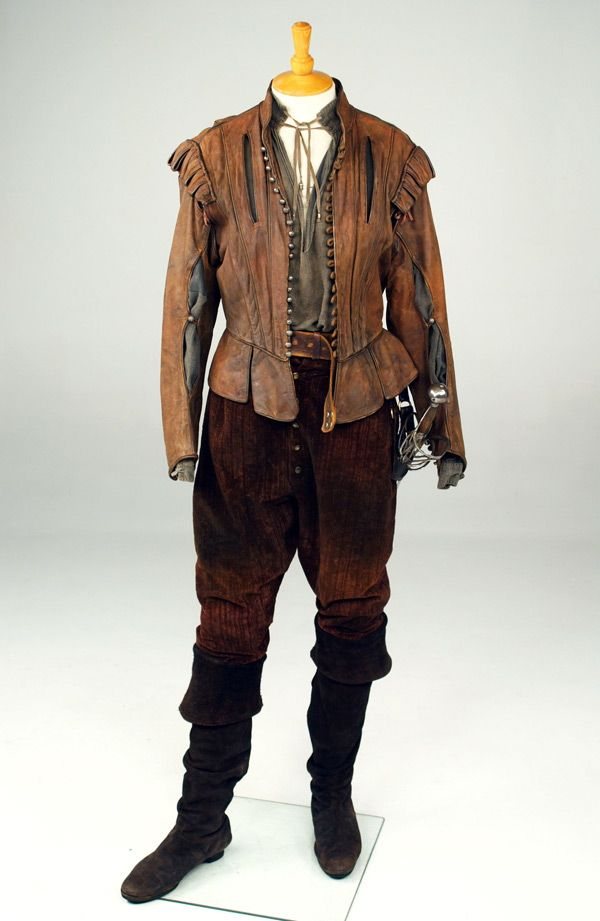 The New World (2006) 17th Century Colin Farrell as Captain John Smith Costume Design by Jacqueline West