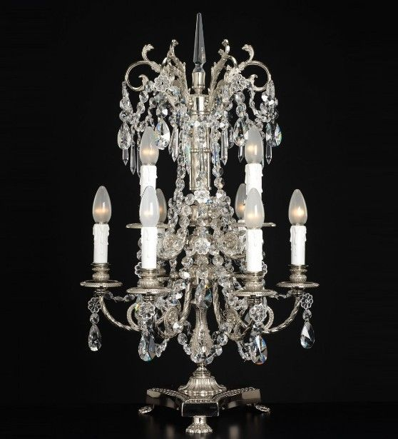 Crystal Chandelier Table Lamps: 17 Best Images About Chandeliers & Lighting On Pinterest