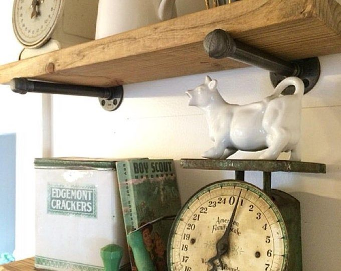 Wall Shelf Unit 10 Deep Extra Long Industrial Rustic Farmhouse Floating Shelves Kitchen Open Shelves Book Case Coffe Bar Shelving Unit With Images Industrial Floating Shelves Rustic Floating Shelves Long Floating