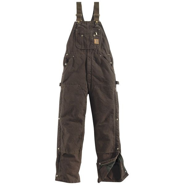 carhartt bib overalls - in chocolate. I wish I could have them in green