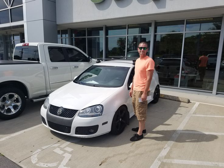 Tyler Matthews saw this '09 Volkswagen Golf GTI on our lot and had to have it! So Sales Consultant Vince Vlaisavich worked out the details and Tyler is set for the summer in his new ride. Thank you, Tyler, for your business and enjoy your hot hatchback! https://www.zimmermotor.com/staff.aspx