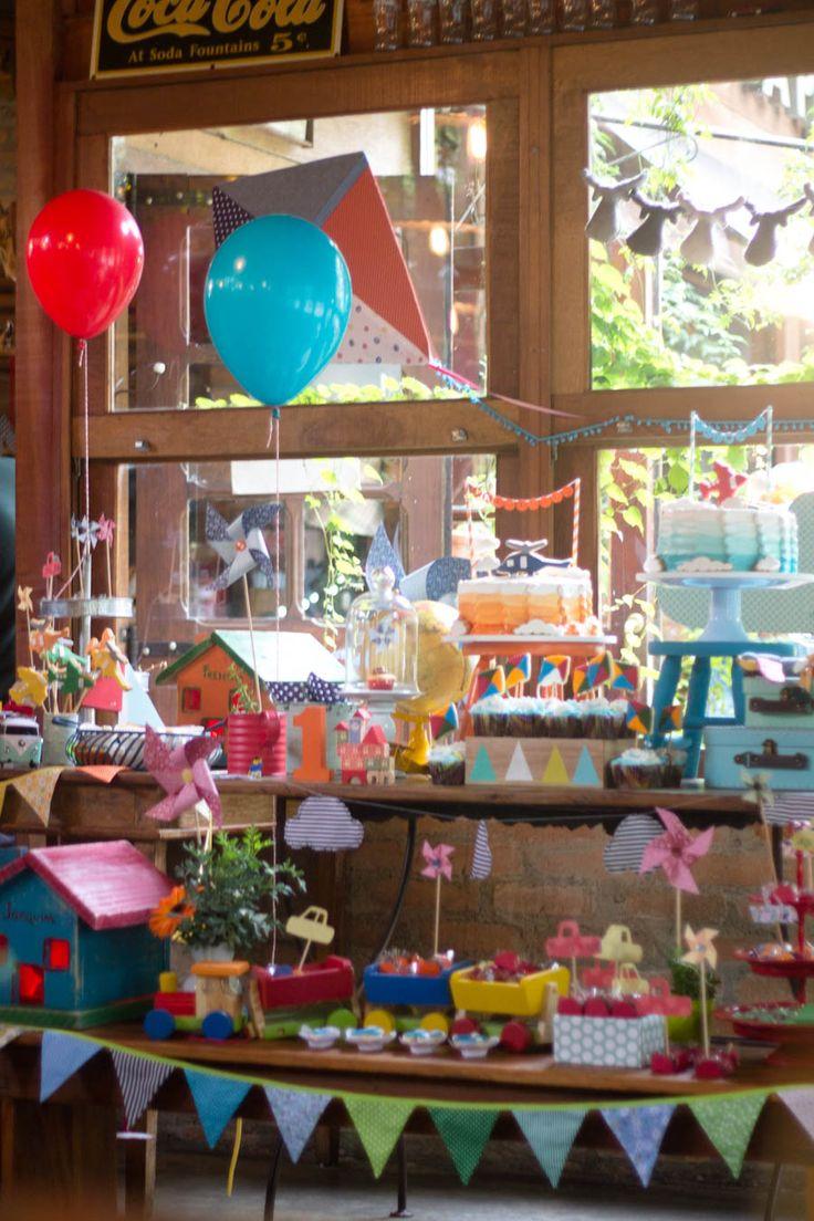 Festa Brinquedos de Frederico e Joaquim {Fotos e decoração: Festa de Brincar}
