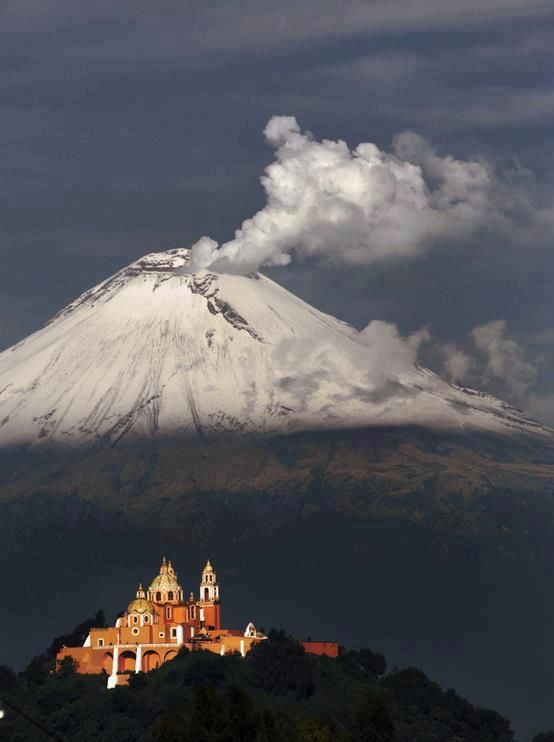 Popocatepetl, Mexico.