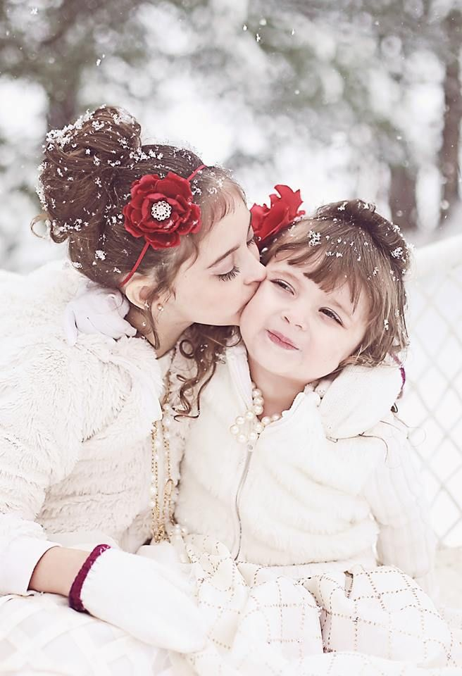 Gorgeous winter child photography   Candy Bell Photography