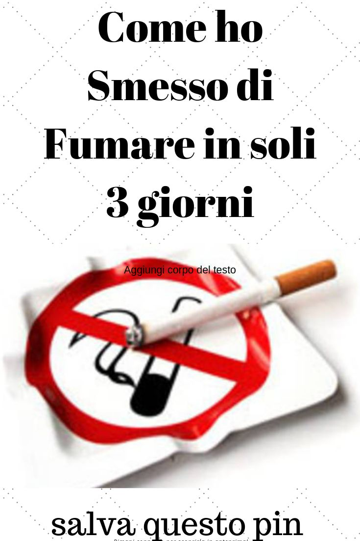 Come smettere di fumare con i rimedi naturali   Ohga!