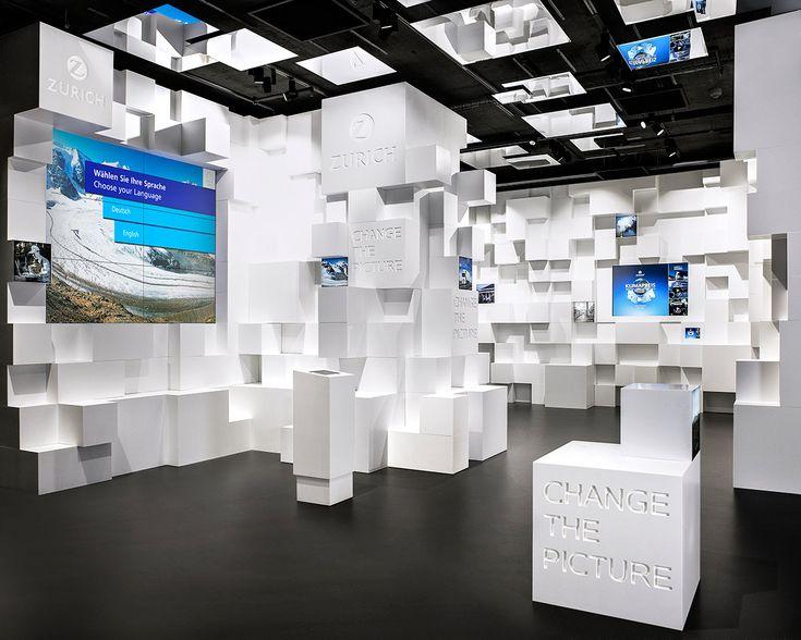 Zurich Versicherung – UmweltArena, Zurich. A project by Ippolito Fleitz Group – Identity Architects.