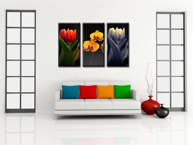 Décoration murale design tableau déco fleurs pas cher boutique en ligne spécialisée en déco murale made in france hexoa fr livraison offerte au travail