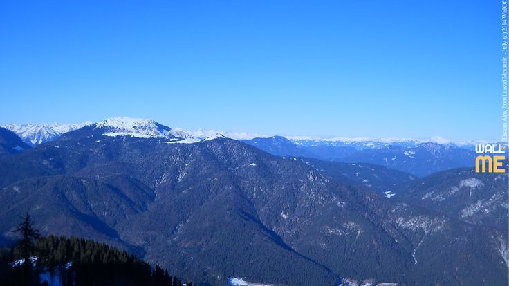 2014, week 49. Eastern Alps, view from Lussari Mountain - Italy. Picture taken: 2012, 01