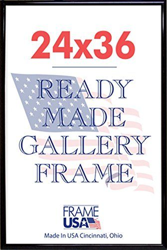 Frame USA Deluxe Poster Frame 24 x 36 Black -- For more information, visit image link.