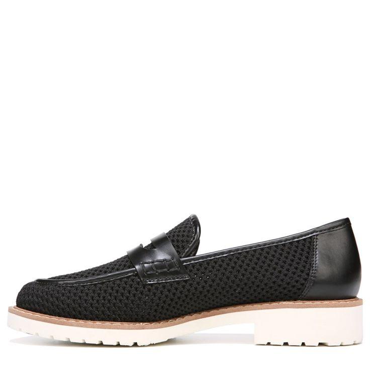 Franco Sarto Women's Celeste Loafers (Black Leather)