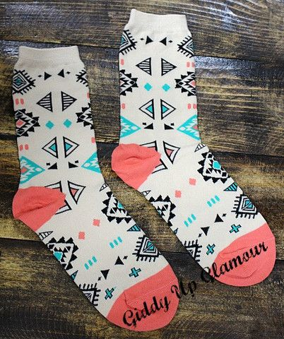 My Pueblo Aztec Socks