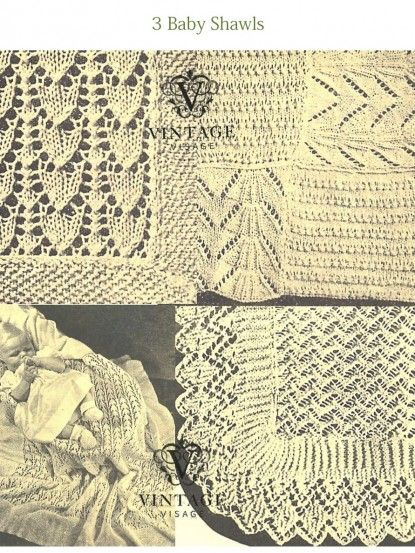 Christening Shawl Knitting Pattern Free : 1000+ images about Blankets and shawls for babies on Pinterest Baby shawl, ...