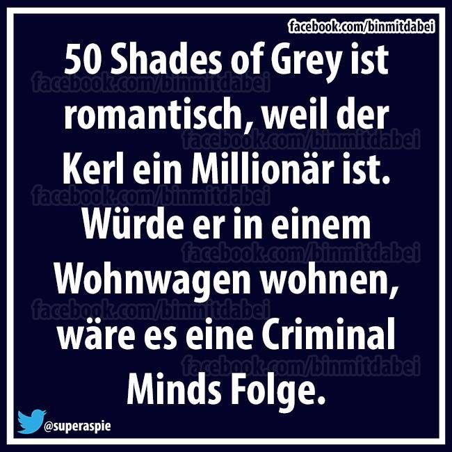 50 shades ... Wie wahr!
