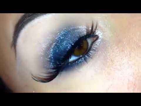 Sparkling Smoky Eyes Makeup Tutorial
