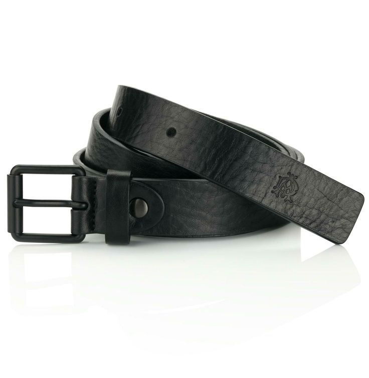 Black Buckle Grain Leather Belt by Dunhill. Black grained leather with black buckle. The finishing touch on any ensemble, our newly expanded selection of Dunhill belts are made to last from top quality materials with a touch of classic, elegant British style. Click on image for more details. #gifts #Giftideas #FathersDay #YVR #Vancity #Vancouver #Dunhill #Belts #fashion #gentleman #men #menswear #accessories #black #leather #classy
