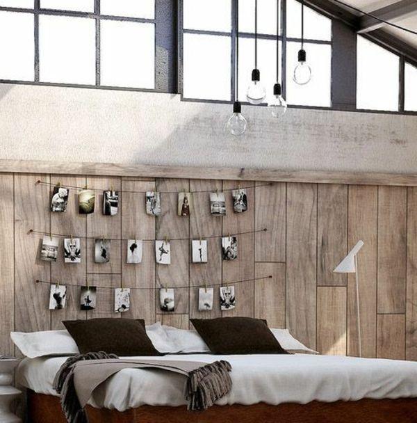 Fabriquer une tête de lit avec des photos en corde