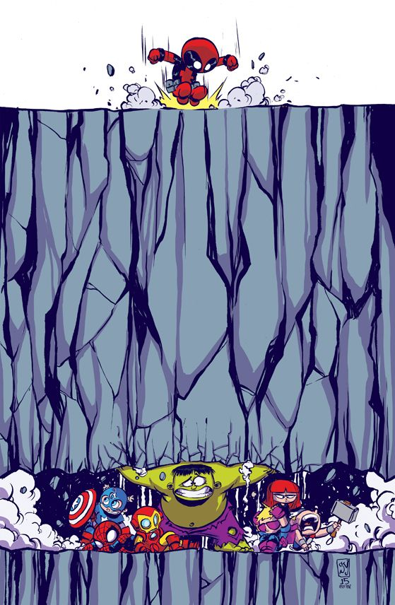 Skottie Young : Deadpool's Secret Secret Wars #1 variant