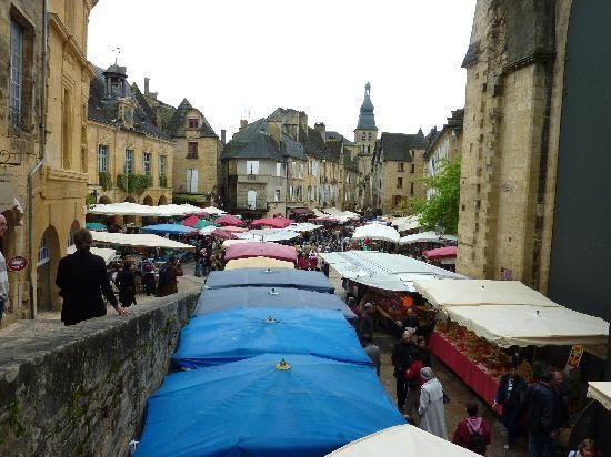 market, Sarlat