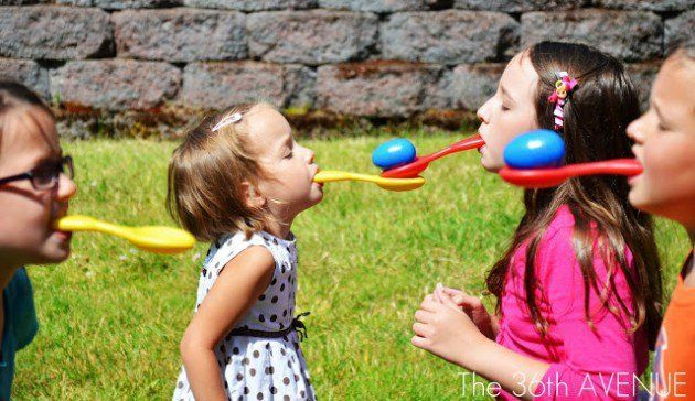 De 15 leukste zelfmaak ideetjes voor spelletjes op kinderfeestjes