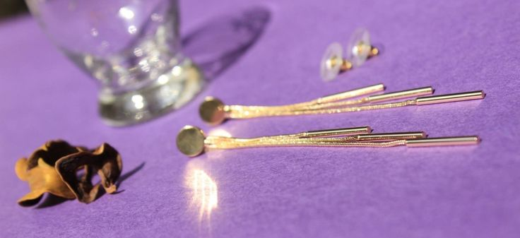 GOLDEN LAYERED FRINGES Price: Rs. 450/-, Length: 8.5 cm