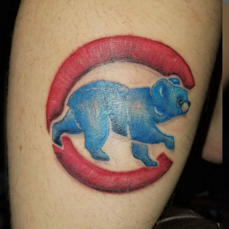 9 best chicago cubs tattoo images on pinterest cubs for Javier baez neck tattoo