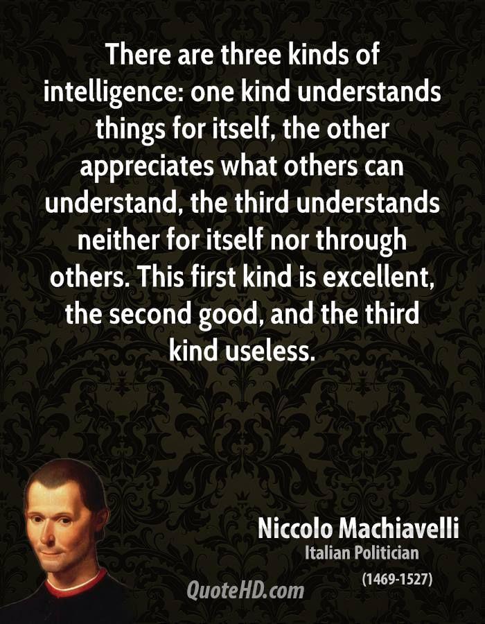 Niccolo Machiavelli Quotes
