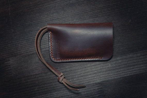 Horween Leather Key Holder/Horween Leather by northwardhandcraft