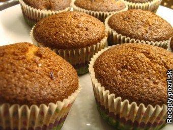 Hrnčekové špaldové muffiny celozrnné - vynikajúce