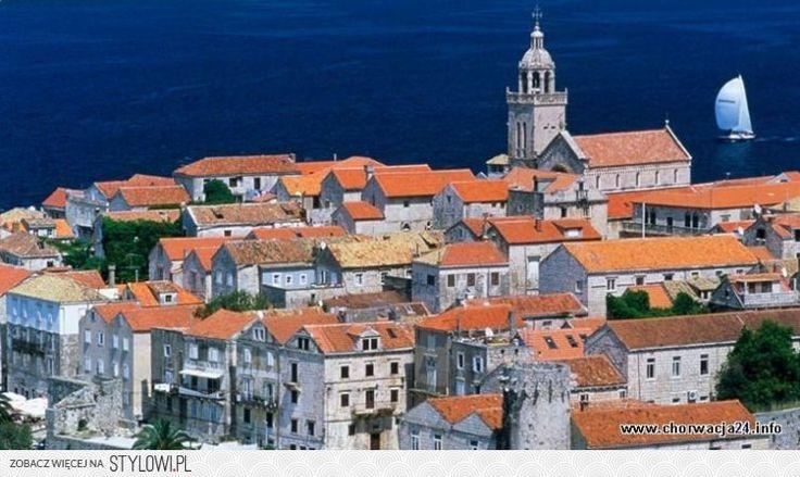 Chorwacja - Korčula jest bardzo przyjazne dla podróżnik… na Stylowi.pl