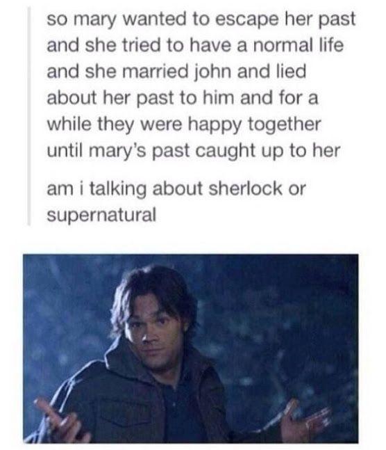 sherlock or supernatural?